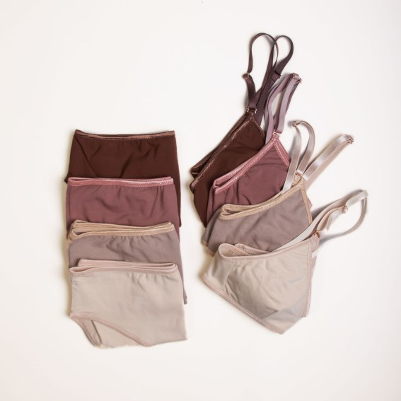 Varying shades of neutrals