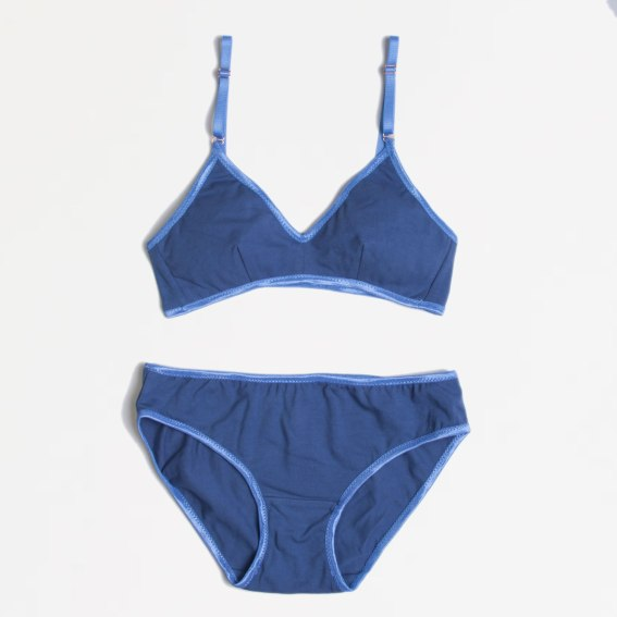 Cornflower Blue Lingerie Set