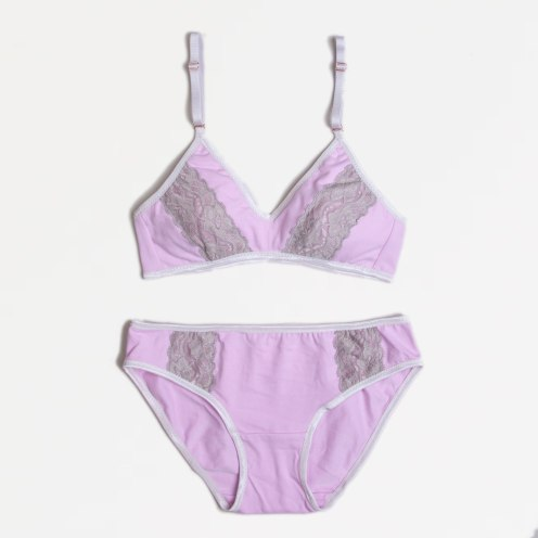 Iced Lilac Lingerie Set